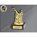 P022.01 Streetdance-Breakdance-Mini-Pokal, Gold, 10x5 cm