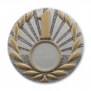 RE39  70/25 mm, Resin-Emblem, Neurtral  1, Silber/Gold