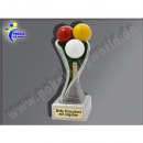 FG4102 Billard, Queue-Resin-Pokal, Multicolor...