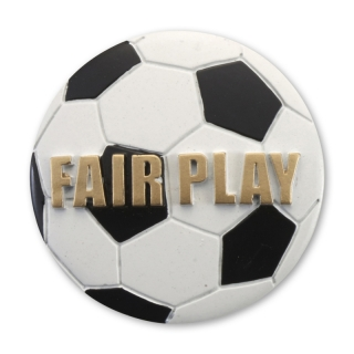 RE04  70 mm, Resin-Emblem, Fair Play, Mehrfarbig