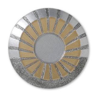 RE48  70 mm, Resin-Emblem, Neutral 25mm, Silber/Gold