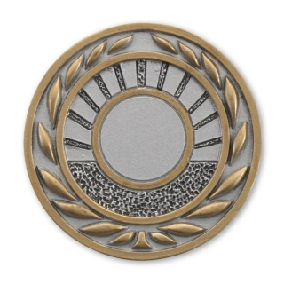 RE50  70 mm, Resin-Emblem, Neutral 25mm, Silber/Gold