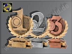 3er Resin-Pokalserie mit eigener Gravur   1.-2....