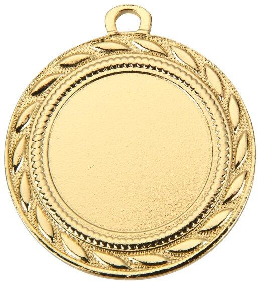ab 50 Stück Gold, Silber oder Bronze Medaille (40mm) mit band und eigenem Logo (unmontiert)