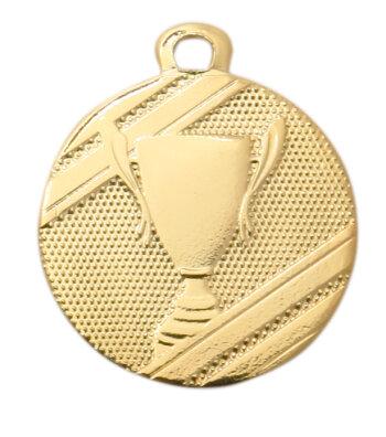 ab 50 Stück Gold, Silber oder Bronze Medaille (32mm)...