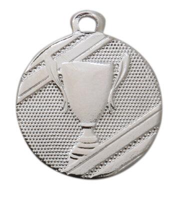 ab 50 Stück Gold, Silber oder Bronze Medaille (32mm) mit band (unmontiert)