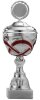 Pokal Silber/Rot A4401