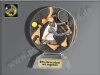 Tennis-Damen-Resin-Pokal, Multi, 16x12 cm