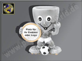 Pokal-Männchen mit Ball-Resin-Pokal,...