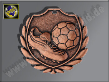 "D77B.27   Bronze-Medaille-Motiv ""Fußballschuh..."