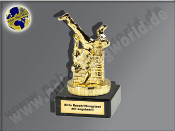Streetdance-Breakdance-Mini-Pokal, Gold, 10x5 cm