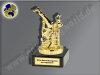 Streetdance-Breakdance-Mini-Pokal, Gold, 10x5 cm