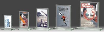 B316.0   5er Glaspokal-Serie, Transparent, mit...