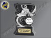 Gokart mit Racer-Resin-Pokal, Bronze/Schwarz, 10x6,6 cm