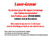 B338.1   Glaspokal inkl. edler Samt-Gift-Box, Transparent, mit Laser-Gravur, 12,5x8,5 cm (inkl. Personalisierungskosten)