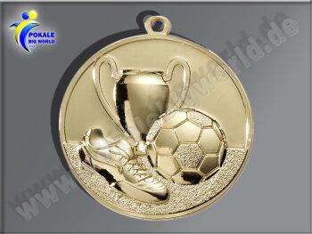 """E213.1   Gold-Medaille-Motiv """"Fußball"""",..."""