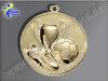 """E213.1   Gold-Medaille-Motiv """"Fußball"""", 50mm Ø, m. Band (unmontiert)"""