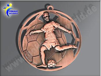 """E235.3   Bronze-Medaille-Motiv """"Fußball"""",..."""