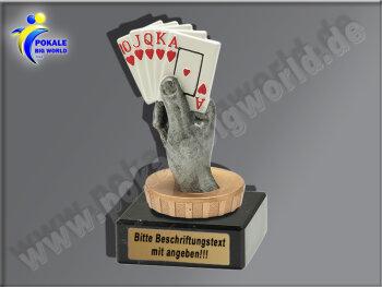 Kartenspiel, Pokerblatt, Karten spielen-Mini-Pokal,...