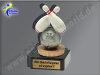 Bowling, Kegel, Loser-Pechpokal-Mini-Pokal, Multicolor (handbemalt), 10x5 cm