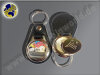 MPS113 Leder-Schlüsselanhänger m. Einkaufschip
