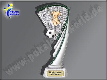 Fussball-Zweikampf-Resin-Pokal, Multicolor (handbemalt),...