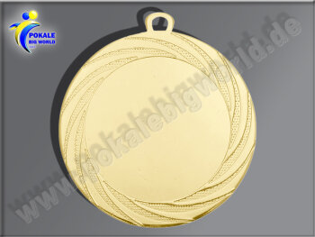 DI7001.01   Gold-Medaille, 70mm Ø, m. Band,...