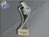 Schiedsrichter-Schiedsrichterpfeife-Resin-Pokal, Multicolor (handbemalt), 14,5x5,1 cm