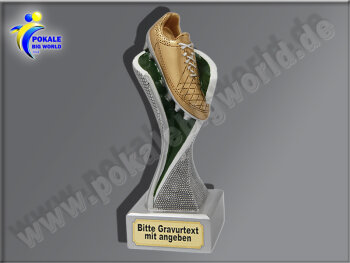 Fußballschuh-Resin-Pokal, Multicolor (handbemalt),...