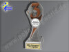 3. Platz (Zahl 3)-Resin-Pokal, Bronze, 19,5x55 cm