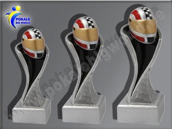 3er Helm, Motorsport, Motorradhelm, Resin-Pokalserie,...