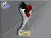 Karten, Kartenspiel, Poker, Pokerblatt, Skat-Resin-Pokal, Multicolor (handbemalt), 14,5x5,1 cm