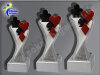 3er Karten, Kartenspiel, Poker, Pokerblatt, Skat, Resin-Pokalserie, Multicolor (handbemalt), 14,5x5,1-17x5,3 u. 19,5x5,5 cm