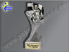 Kartfahren, Go Kart. Kart Racing-Resin-Pokal, Silber, 14,5x5,1 cm