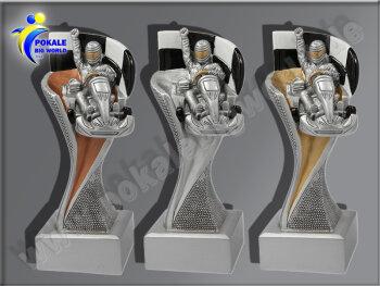 3er Kartfahren, Go Kart. Kart Racing, Resin-Pokalserie,...
