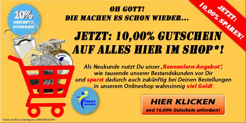 10% Neukunden Gutschin